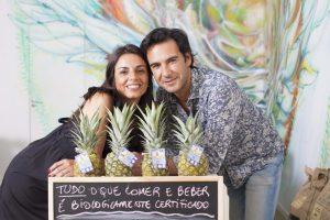 Maria Aroeira e Miguel Abreu