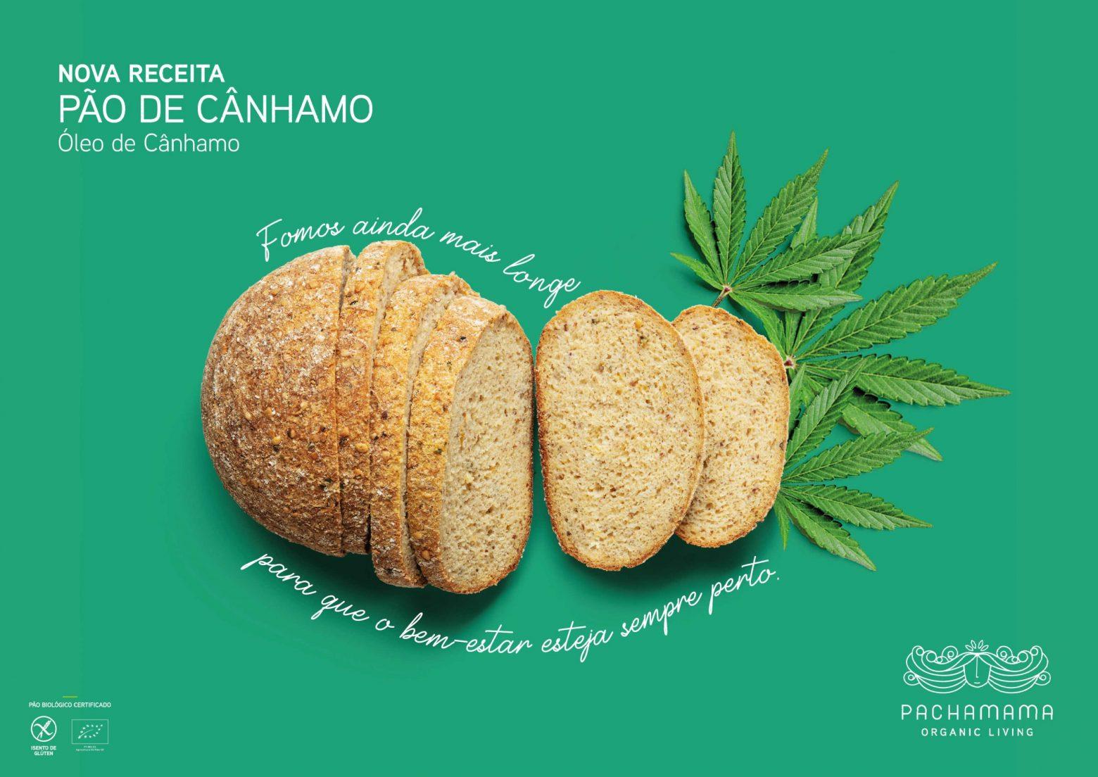 Pão de Cãnhamo Sem Glúten Pachamama